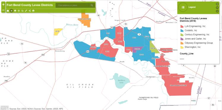 Levee Map